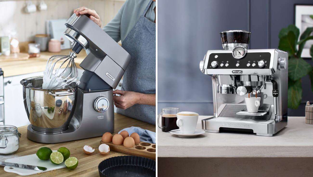 Čas za kavo in vir navdiha v kuhinji